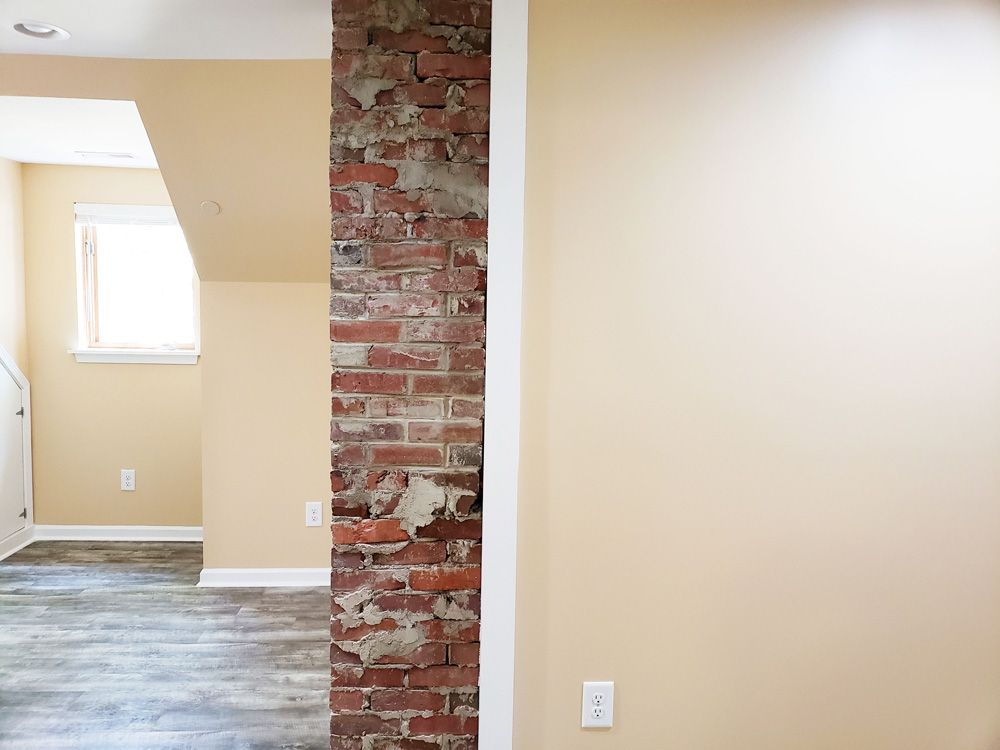 AFTER: Fireplace Bricks