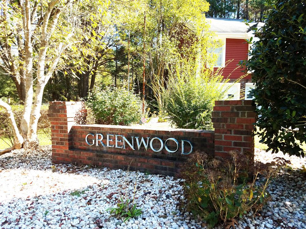 Greenwood Community Sign