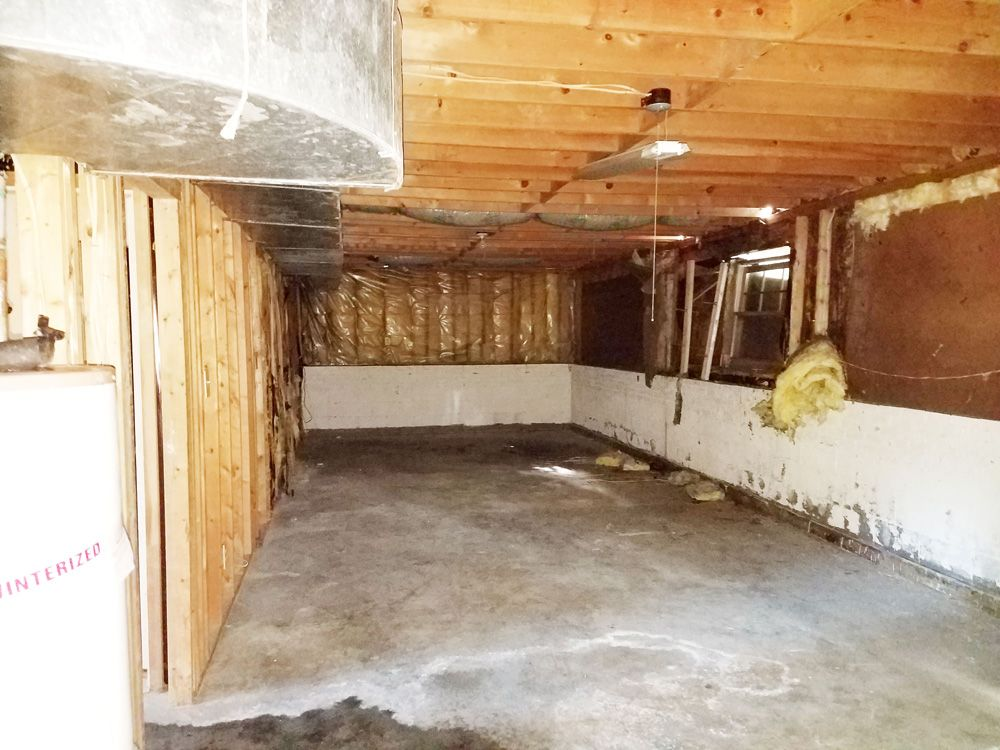 BEFORE: Open Basement