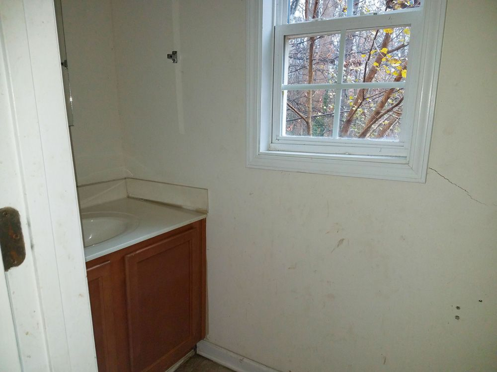 BEFORE: Half-Bath