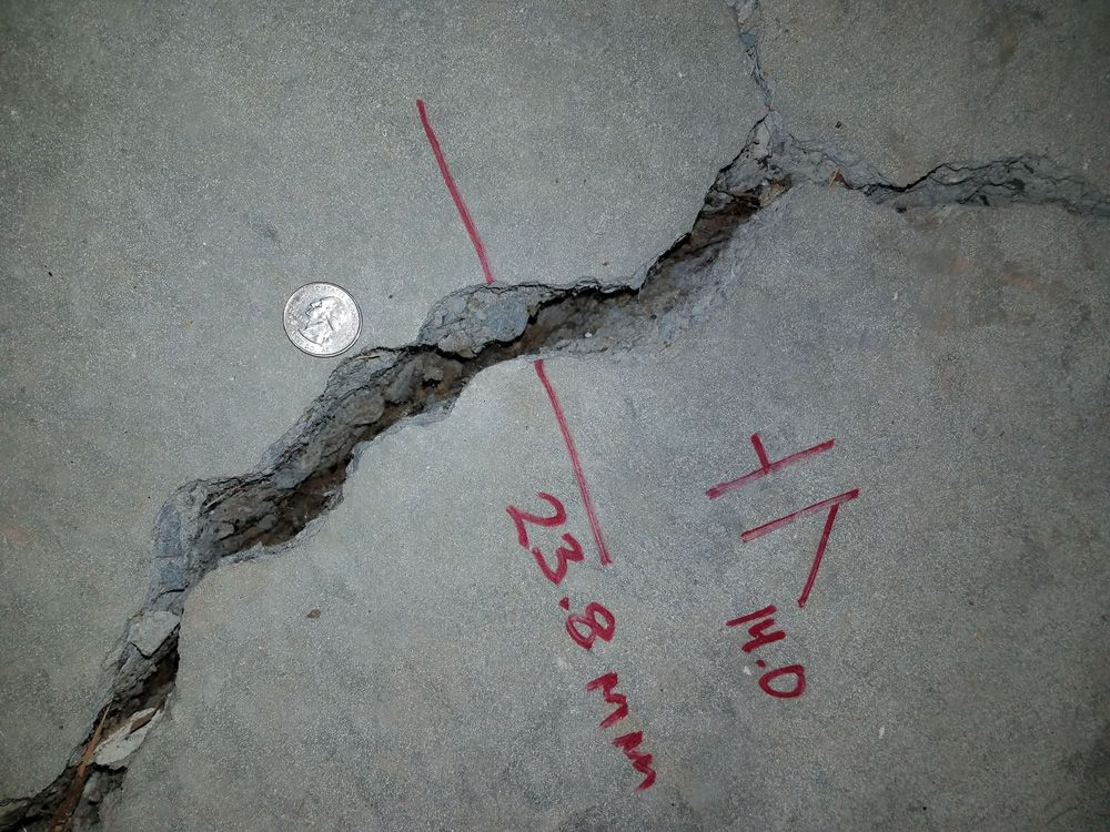 REHAB: Cracks in Slab Foundation