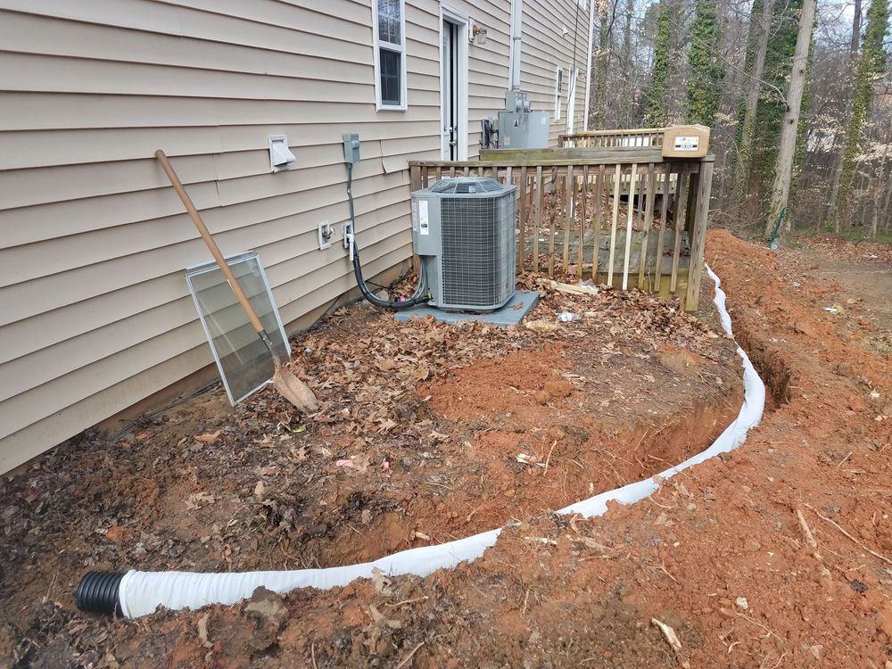 REHAB: French Drain