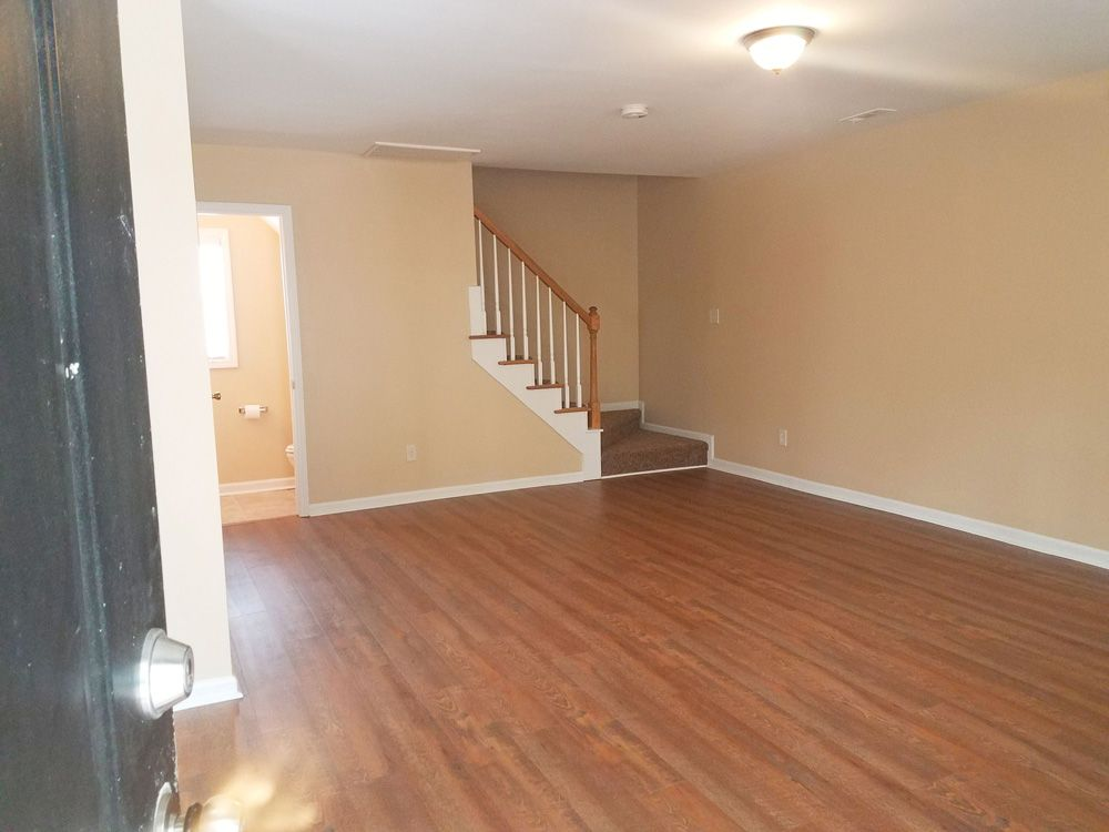 AFTER: Livingroom & Stairs